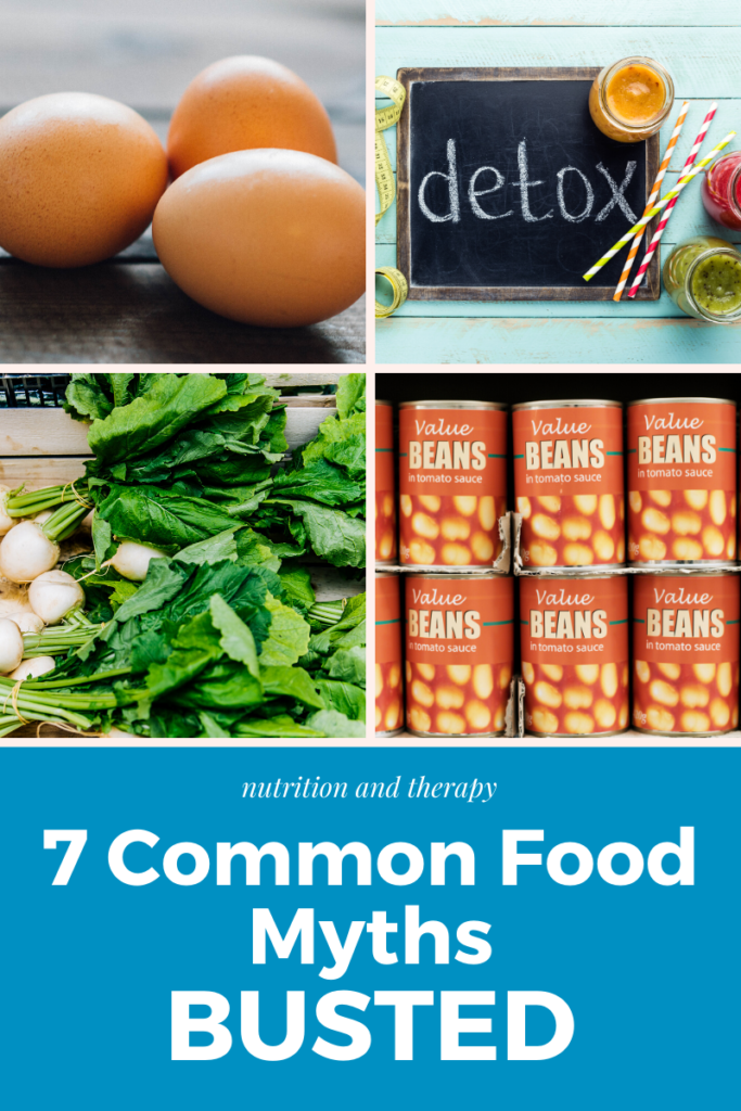 7 common nutrition myths busted | Nutrition and Therapy
