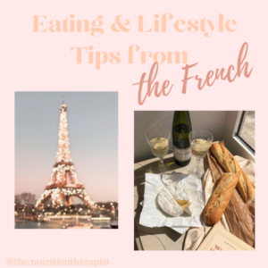 Healthy eating secrets from the French