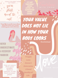 Your value does not lie in how your body looks