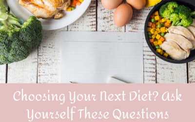 Choosing Your Next Diet? Ask Yourself These Questions
