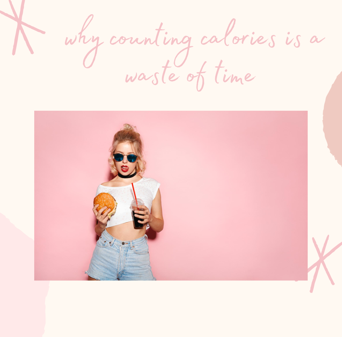 counting calories is a waste of time